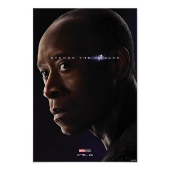 Endgame | Avenge The Fallen - War Machine Poster | Zazzle.com
