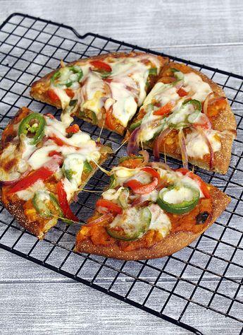 Pizza recipe using whole wheat flour
