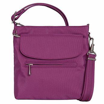 Women S Fashion Cross Body Bags Travelon Anti Theft Classic Mini Shoulder Bag One