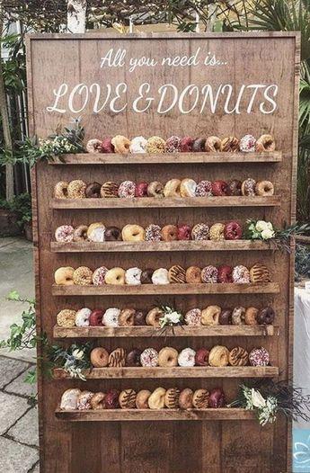 25 Wedding Donuts – A fun alternative wedding dessert Ideas – Pins