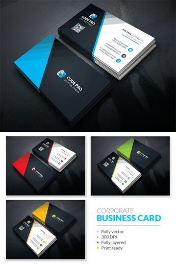 Business Card Design Corporate Identity Template #67753