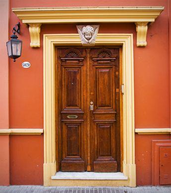 Door with an Angel - Puerta con un Angel