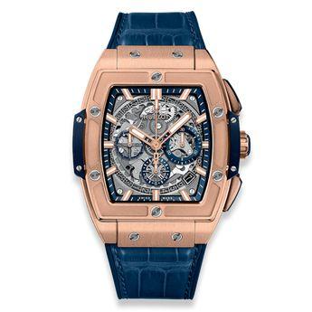 Hublot Spirit of Big Bang 42 mm 18K King Gold Blue Men's Watch