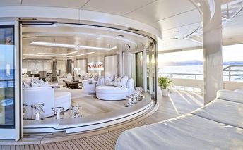 What's It Really Like Inside A Custom Designed And Built 242-Foot-Long Private Yacht