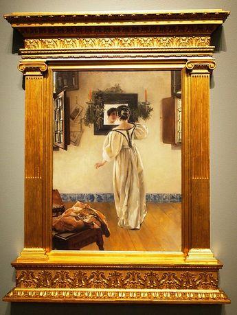 """A Knock at the Door"" - Laura Alma-Tadema, 1897"