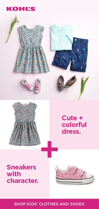 1cb127dd63 Find girls  and boys  clothes at Kohl s. When it comes to spring style