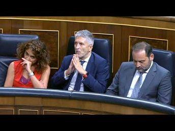 Ministra Carmen Calvo da la cara por Pedro Sánchez en el asunto del 'Open Arms'