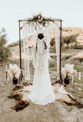 Macrame wedding veil / macrame veil /bride / boho bride / accessory /bohemian / bridal shower / engagement / hippie / headband / crown