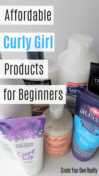 The Curly Girl Method: Beginner Products - Create Your Own Reality