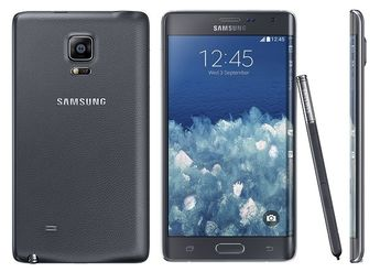 Samsung Galaxy Note Edge: high-end smartphone with a curved display