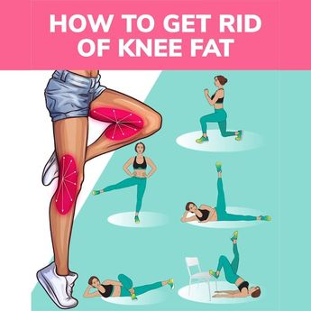 How to Get Rid of Knee Fat with Easy Exercises at Home