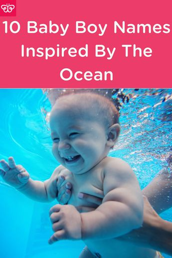 10 Baby Boy Names Inspired By The Ocean