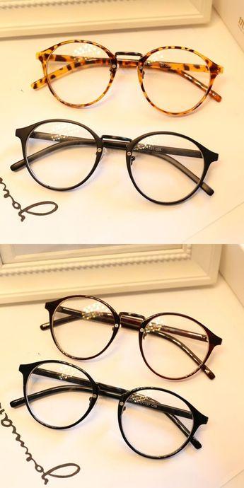 15cd10e6b9 Dressuup cute style vintage glasses women glasses frame round eyeglasses  frame optical frame glasses oculos femininos