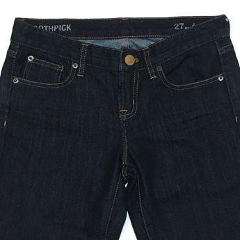 d7634bea J Crew Toothpick Ankle Jeans 27 x 27 Stretch Dark Skinny Low-rise Slim