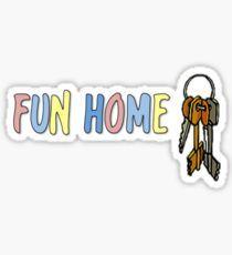 Fun Home Stickers