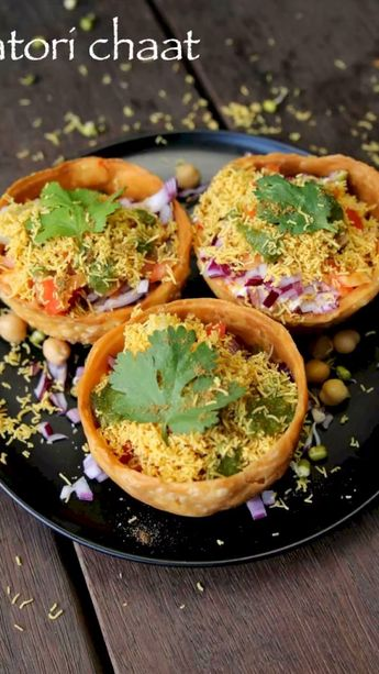 Katori chaat recipe | chaat katori recipe | how to make tokri chaat