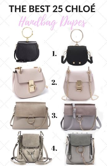 The 25 BEST Chloe Handbag Dupes and Where To Find Them b8837b0c9f