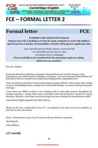 example essay example article fce writing cae writing ejemplos de essays exmenes de ingls de cambridge