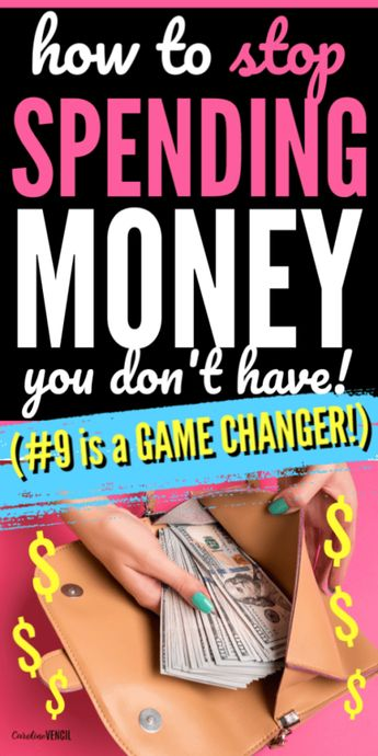 How to Stop Spending Money You Don't Have when you live on a tight budget or live paycheck to paycheck on one low income. A great way to learn how to start working on a budget that will work for beginners. Easy ways to save money and live frugally.