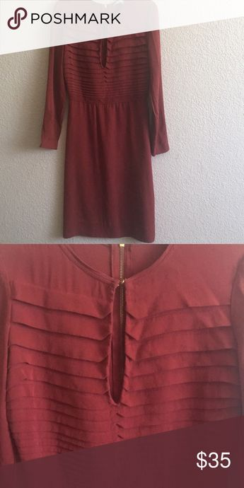 Midi dress Midi dress with beautiful details Dresses Long Sleeve
