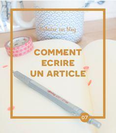 Débuter un blog : Comment écrire un article — Atelier Nobo