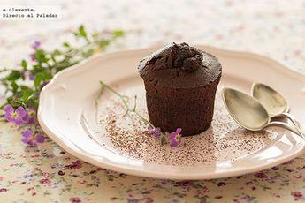 Pasteles tibios de chocolate y café: receta dulce fácil, sencilla y delicosa