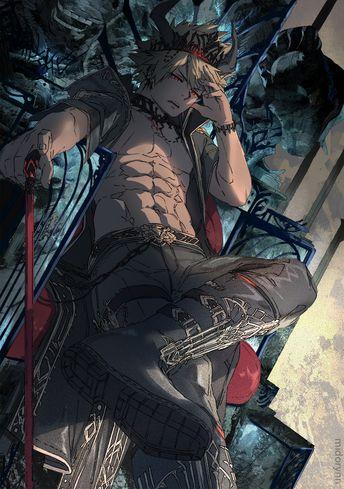 Werewolf bakugou