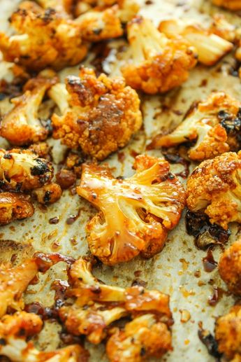 Sweet & Spicy Baked Cauliflower Is Everything Your Life Needs Right Now