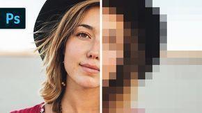 Resize Images Without Losing Quality   Photoshop Tutorial - YouTube #PhotographyRetouchInspiration