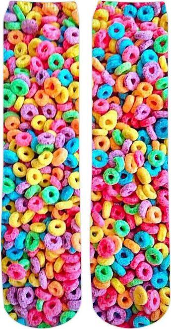 Fruchtige Loops Socken - #Fruchtige #Loops #Socken