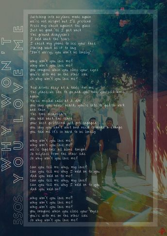 Recently shared 5sos lyrics wallpapers youngblood ideas & 5sos