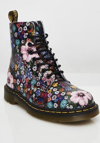Dr. Martens Wanderlust Flower Boots