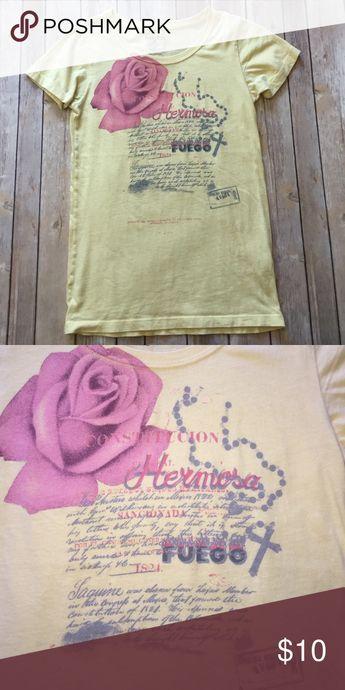 LUCKY BRAND LUCKY BRAND TEE. It says XS, but it runs bigger Lucky Brand Tops Tees - Short Sleeve