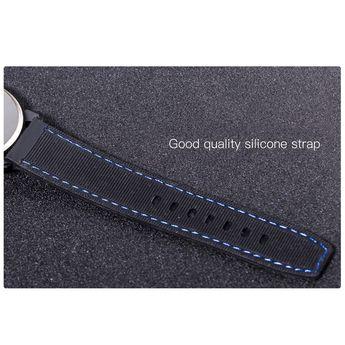 Fashion Men Luxury Stainless Steel Quartz Sport Watch orange Online Shopping | Tomtop