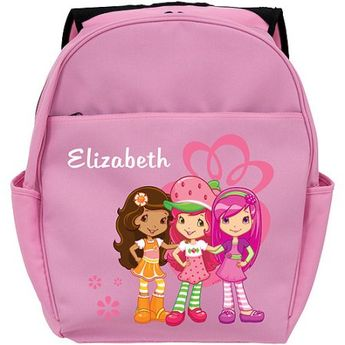 0c7511fd310 Personalized Strawberry Shortcake Berry Friendly Pink Toddler Backpack
