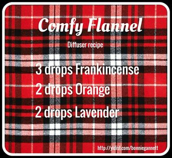 As the flannels are coming out-enjoy this diffuser recipe. Young Living Independent Distributor Bonnie Gannett enroller/sponsor 1983562