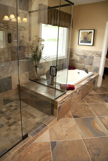 40+ Natural Stone Bathtub Ideas for Your Bathroom