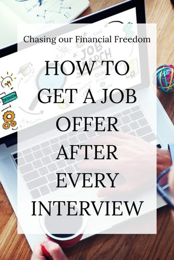 Get an offer after any job interview