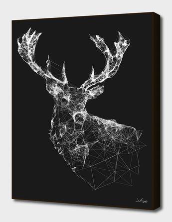 «Deer Reader» Art Print by Jordan Rogers