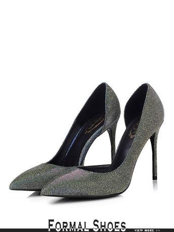 0433d3b98487 Glittering Blue Wedding Shoes High Heeled 2018  MSL-7819 - GemGrace.com