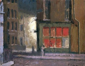 Walter Sickert - Hotel de Commerce, Dieppe, France