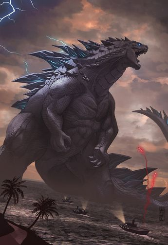Godzilla by DanteFitts on DeviantArt