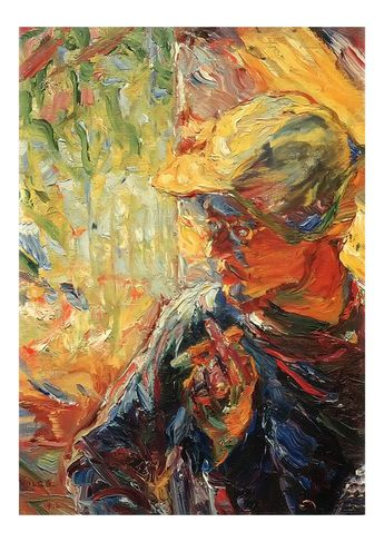 The Painter Schmidt Rottluff By Emil Nolde