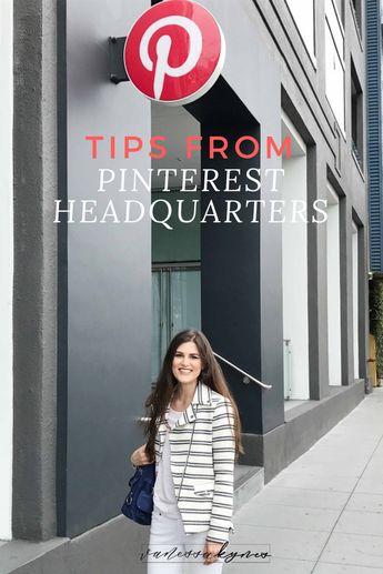 Best Pinterest Marketing Strategies: My tour inside Pinterest Headquarters