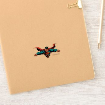 Superman cape flies sticker #Ad , #AD, #flies, #sticker, #created, #Shop, #Superman