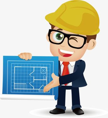 Architectural Engineer Vector Material