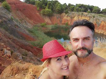 Ferragosto trip with my wife ... ,  ##seasonsgreetings #bauxite #beautiful #bluesky #clearsky #clearskys #ferragosto #fun #hot #instagood #instasummer #nature #photooftheday #relax #season #seasons #sky #summer #summertime #summertimeshine #summerweather #sun #sunny #sunshine #TFLers #vacationtime #warm #weather