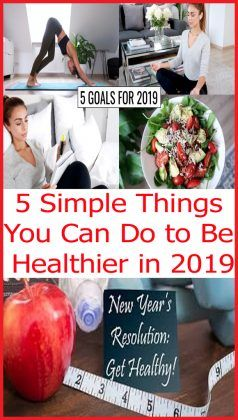 5 Simple #Things You Can Do to Be #Healthier in 2019  #beautymakeup #beautyhacks #skincare #skincaretips #beautytips #skincareroutine