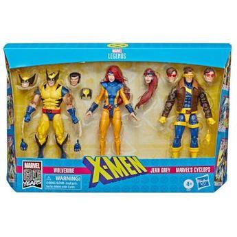 Marvel Comics 80th Anniversary Marvel Legends X-Men 3-Pack