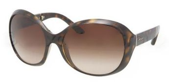 12b8069260 Prada sunglasses PR 12OS 2AU6S1 HAVANA BROWN GRADIENT Size 6118 Prada.   279.99